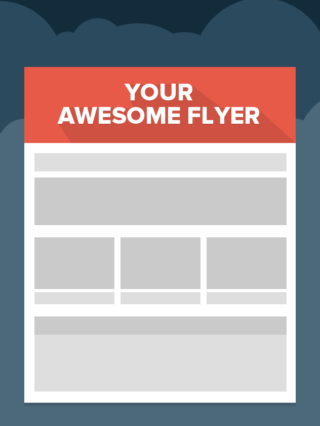 how to create flyers for free