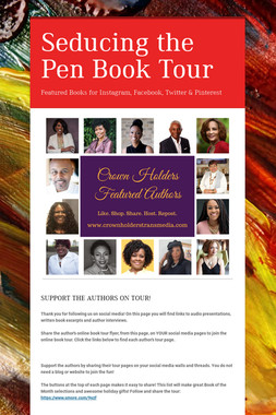 Seducing the Pen Book Tour