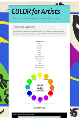 COLOR for Artists