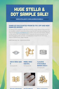 HUGE Stella & Dot Sample Sale!