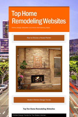 Top Home Remodeling Websites