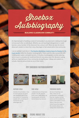 Shoebox Autobiography