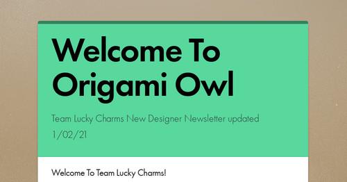 origami owl designer login