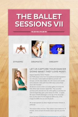The Ballet Sessions VII