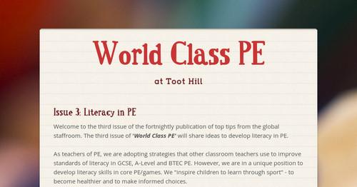 World Class PE
