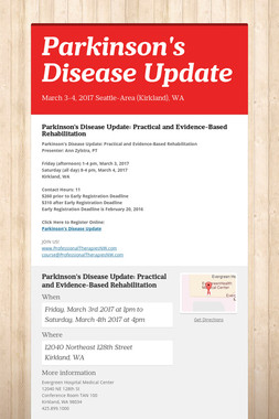Parkinson's Disease Update