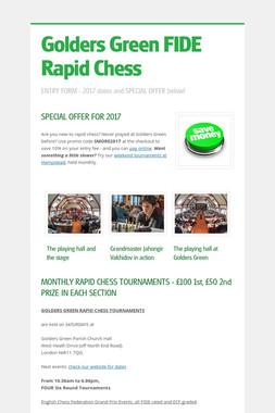 Golders Green FIDE Rapid Chess