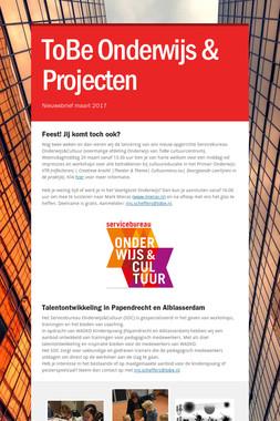 ToBe Onderwijs & Projecten