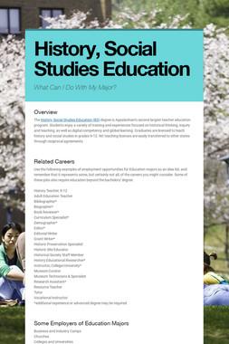 History, Secondary Education