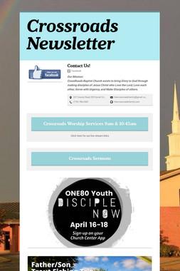 CrossRoads Weekly Newsletter