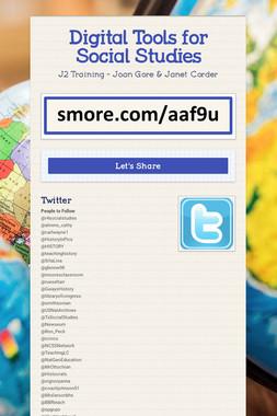 Digital Tools for Social Studies