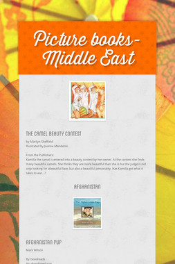 Picture books- Middle East