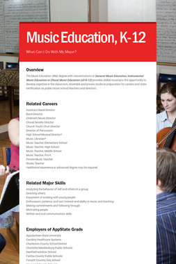 Music Education, K-12