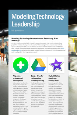 Modeling Technology Leadership