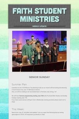 Faith Student Ministries