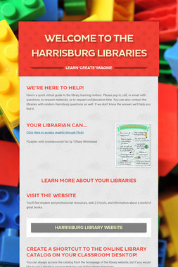 Welcome to the Harrisburg Libraries