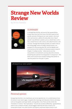 Strange New Worlds Review