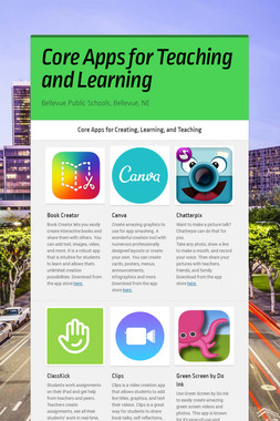 Core Apps for Teaching and Learning