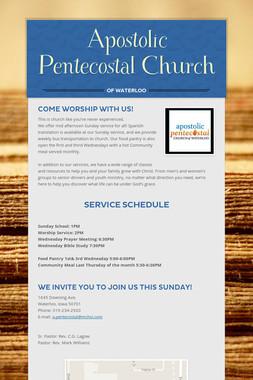 Apostolic Pentecostal Church