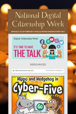 National Digital Citizenship Week