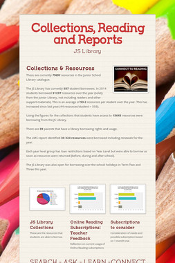 Collections, Reading and Reports