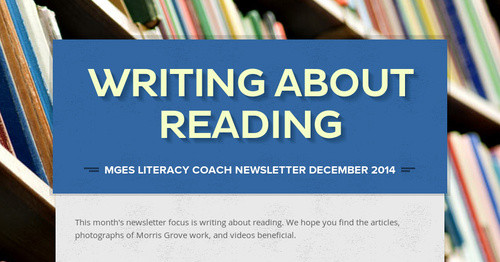 writing about reading Writing about reading: reading notebooks and projects, literary essays, and text-based arguments teaching students to write well about texts involves teaching them to unlock the secrets of complex texts.