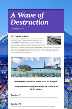 A Wave of Destruction