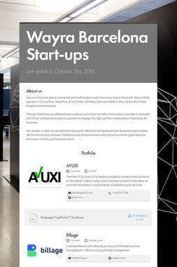 Wayra Barcelona Start-ups
