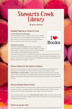 Stewart's Creek Library