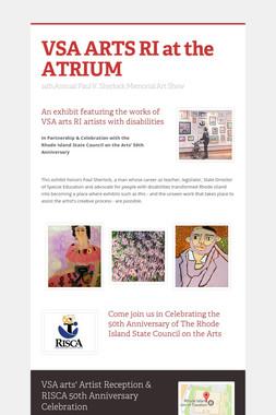 VSA ARTS RI at the ATRIUM