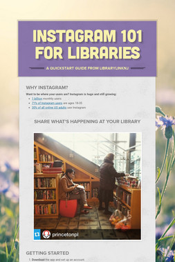 Instagram 101 for Libraries
