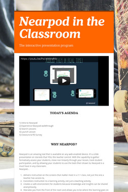 Nearpod in the Classroom
