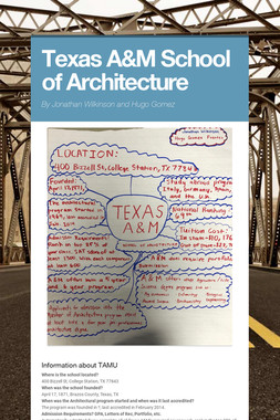 Texas A&M School of Architecture