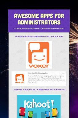 Awesome Apps For Administrators