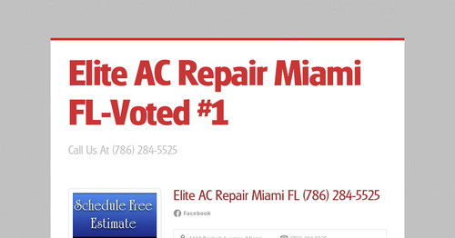 Elite AC Repair Miami