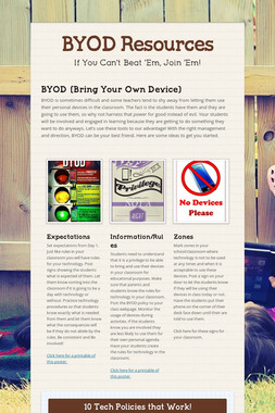 BYOD Resources