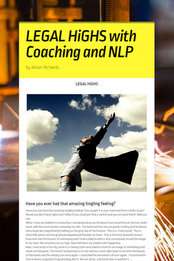 LEGAL HiGHS with Coaching and NLP