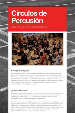 Círculos de Percusión