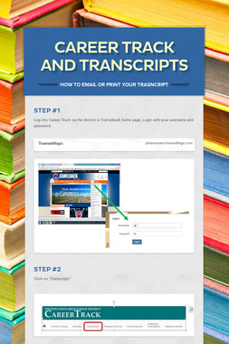 Career Track and Transcripts