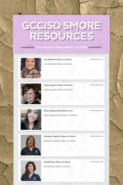 GCCISD Smore Resources