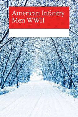 American Infantry Men WWII