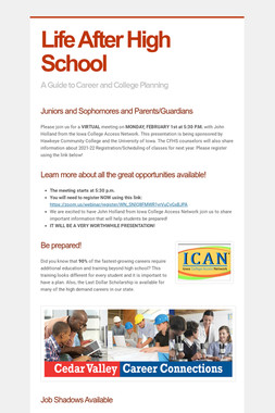 Career/College Planning Meeting