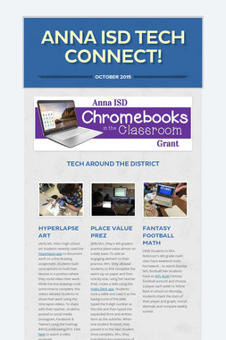 Anna ISD Tech Connect!