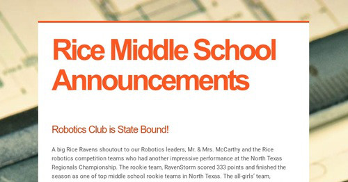 Rice Middle School Website Related Keywords & Suggestions