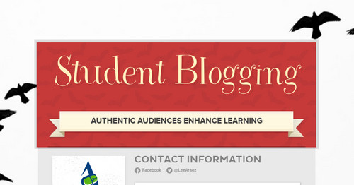 Student Blogging | Smore Newsletters for Education