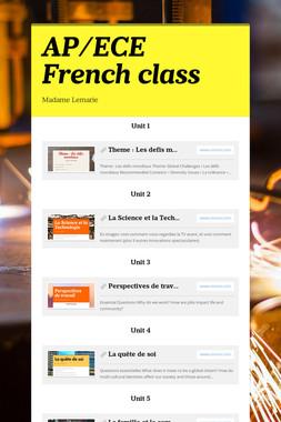 AP/ECE French class