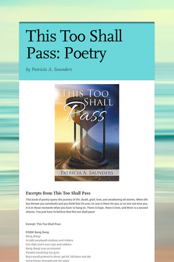 This Too Shall Pass: Poetry