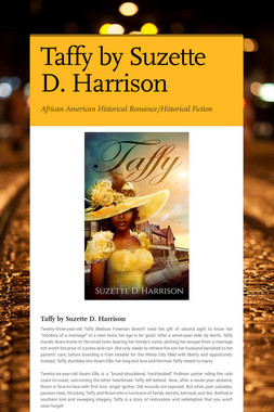 Taffy by Suzette D. Harrison