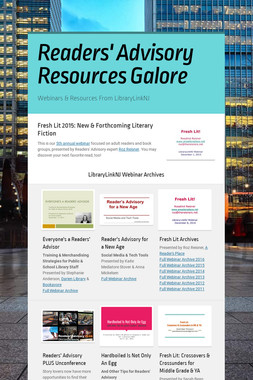 Readers' Advisory Resources Galore