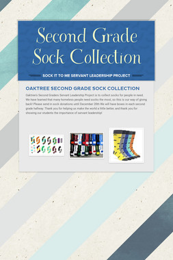 Second Grade Sock Collection